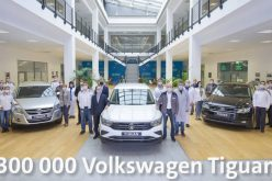 300 thousand VW Tiguan produced in Russia