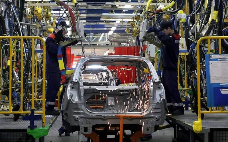 The car production in St. Petersburg has declined by 12% in June
