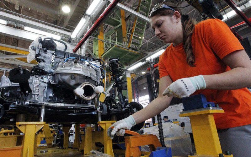 Mazda-Sollers signs special investment contract with Russian Government to establish engine factory