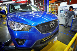 Mazda starts engine production in Russia