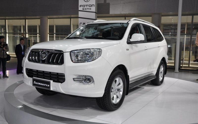 Chinese Foton Motors will start car production in Russia