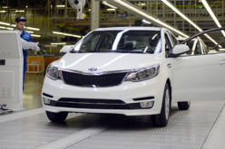 The 500,000th KIA Rio manufactured in Russia has rolled off the production line