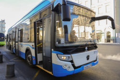 GAZ electric buses have hit the Moscow roads