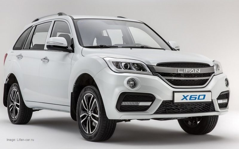 Lifan will launch the sales of two new models in Russia in 2018