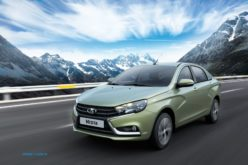 Lada Vesta has been launched in the South American market
