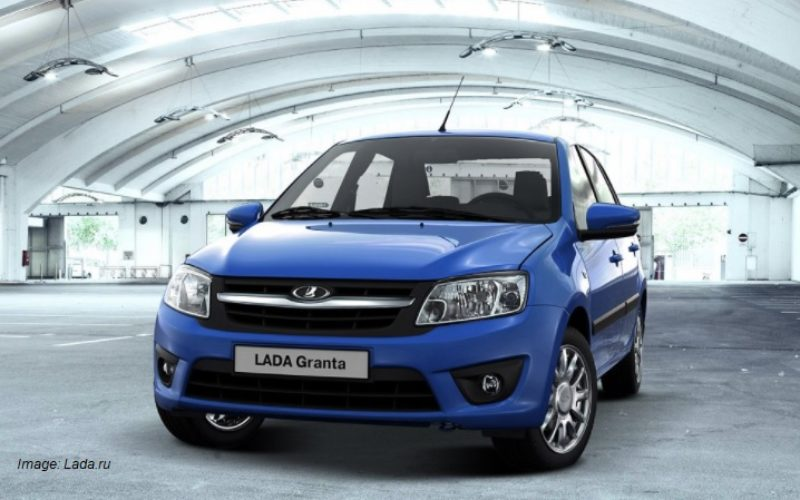 AVTOVAZ has suspended the production of Lada Granta automobiles due to lack of components