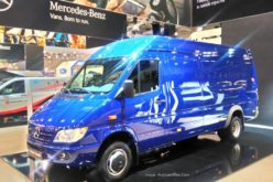 The localisation rate of Mercedes-Benz Sprinter Classic has exceeded 50%