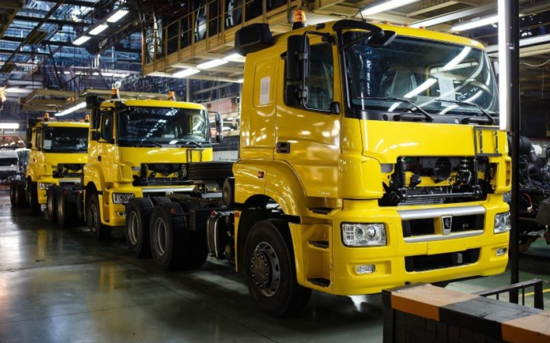 KAMAZ truck production has increased 12% in 2017