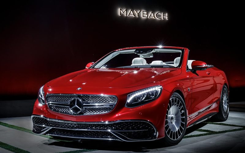 The most expensive Mercedes Maybach S-65 Cabriolet is on the Russian market
