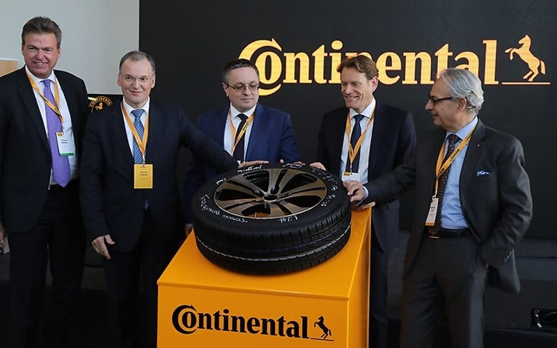 Continental tire plant in Kaluga produces the 10-millionth tire
