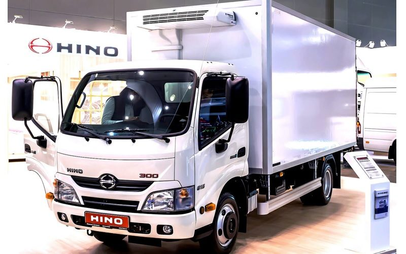 Hino plans to start the construction of a truck factory in Russia in August