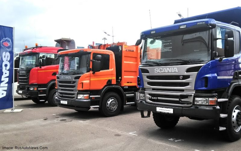 Scania has started the production of new generation trucks in Russia