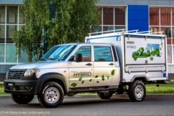 UAZ has developed the first Russian hybrid LCV