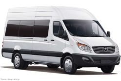 The production of Chinese JAC Sunray minibuses will start at MAZ plant