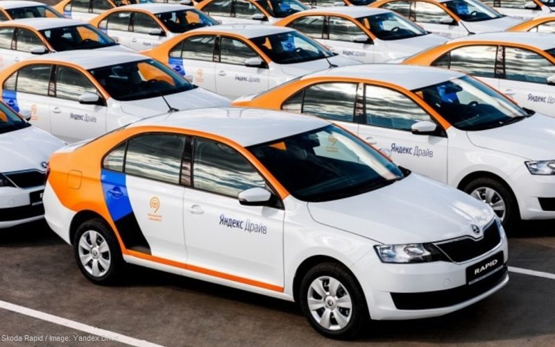 Moscow has the largest car sharing fleet in the world