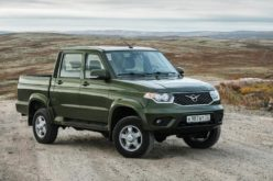 A biofuel version of UAZ Pickup will be manufactured
