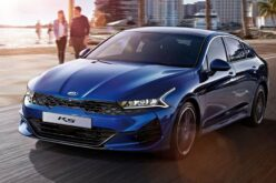 The production of KIA K5 sedans has been launched in Russia