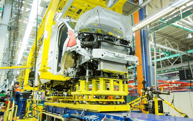 Vehicle production has decreased by 29% within the first 8 months of 2020