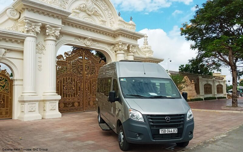 GAZ Group has started the sales of Gazelle Next LCVs in Vietnam