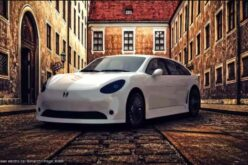 The new Russian electric car Monarch is available for pre-orders