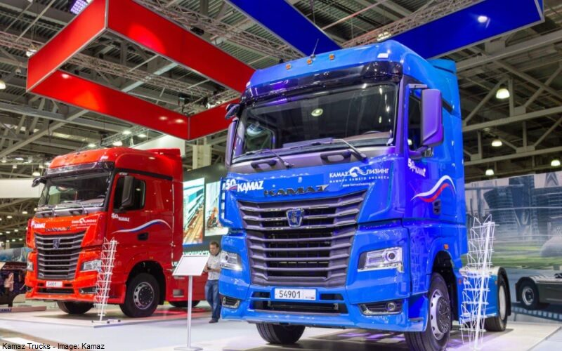 KAMAZ and ZF will implement the Connected Road Train project
