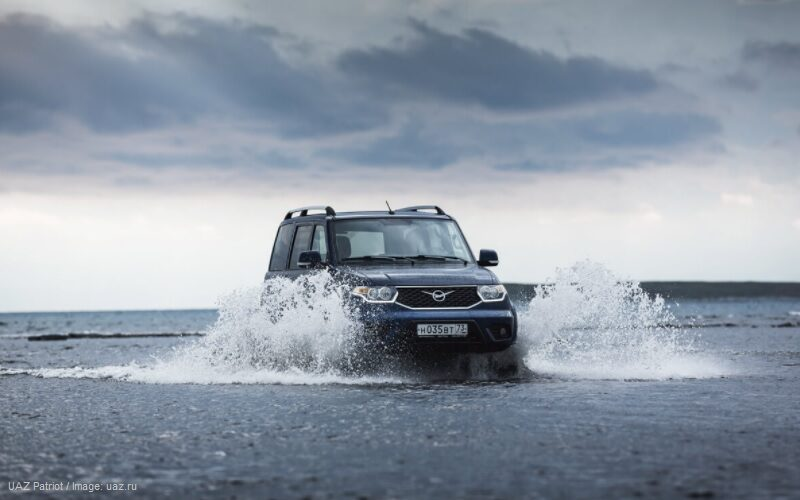 UAZ will launch the sales of automatic transmission Patriot SUV in Chile