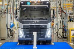 Volvo Kaluga has manufactured the first trucks from the new FM model range